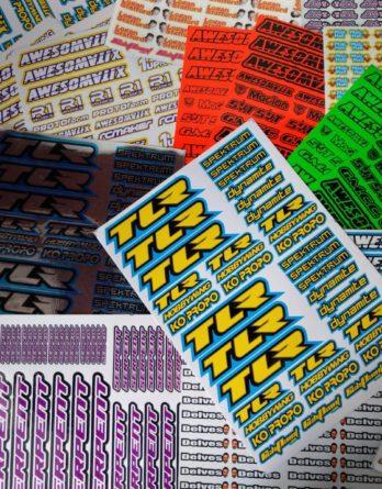 Sponsor Stickers